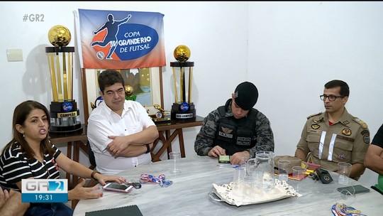 Detalhes da final da 23ª Copa TV Grande Rio de Futsal são definidos durante reunião