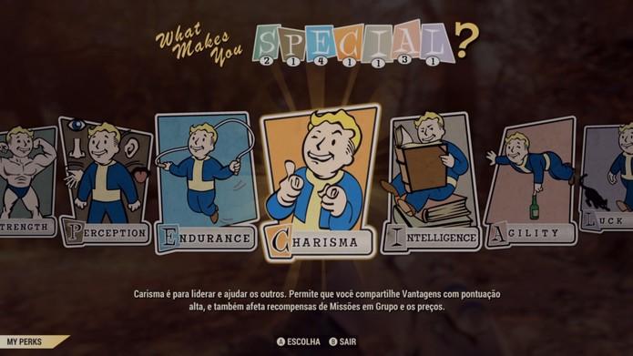 Evoluir no Fallout 76 não gera resultado visível (Foto: Reprodução/Murilo Tunholi)