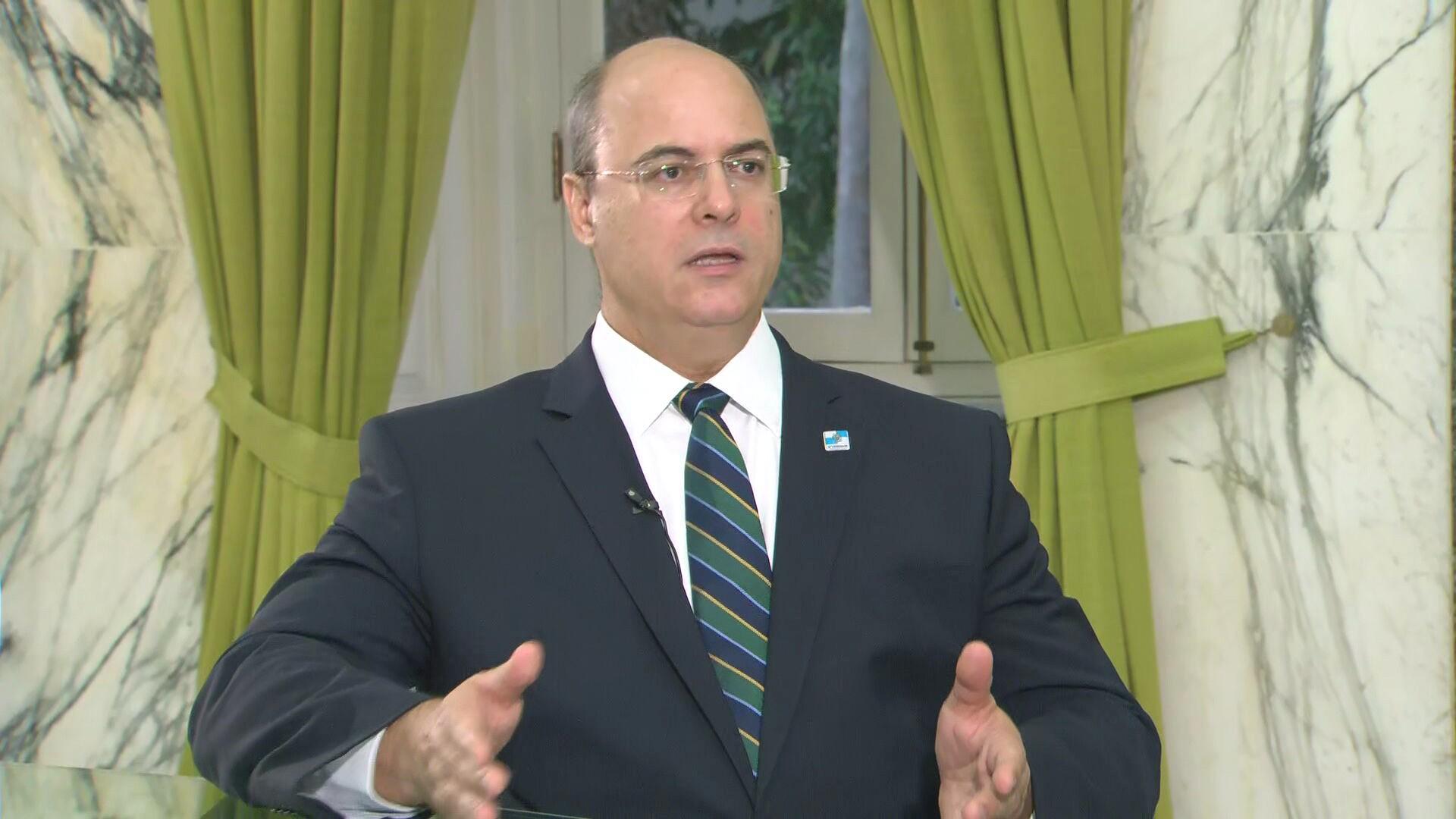 Witzel diz que ficaria honrado de ter Moro no governo do RJ, após anúncio de demissão
