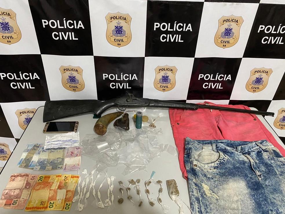 Homem é preso suspeito de abusar criança de 3 anos na Bahia — Foto: Polícia Civil/Divulgação