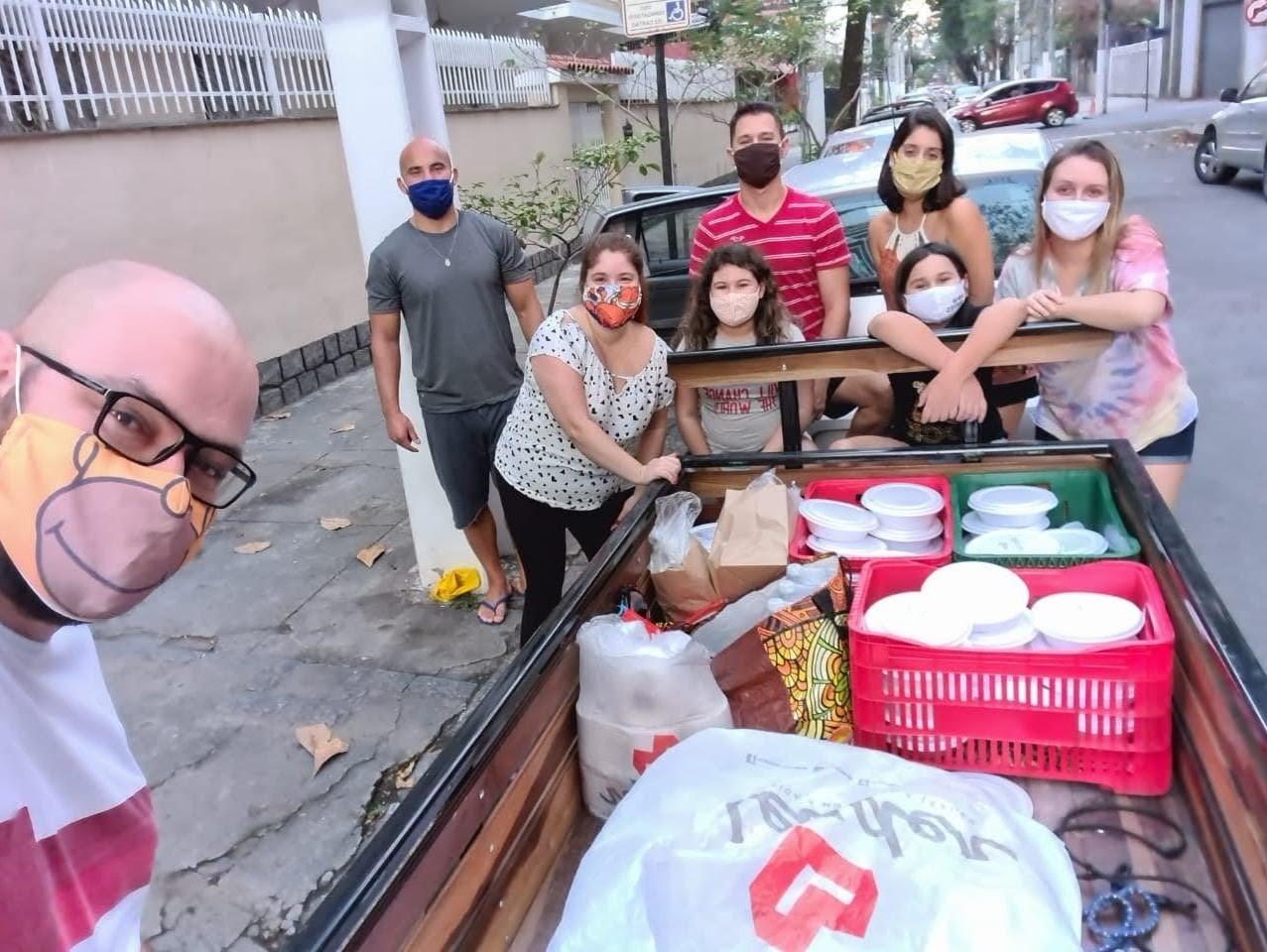 Projeto social que distribuiu refeições para população vulnerável de Niterói promove Natal Solidário