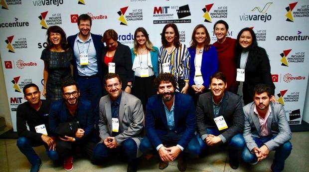 Os finalistas do prêmio do MIT (Foto: Divulgação)