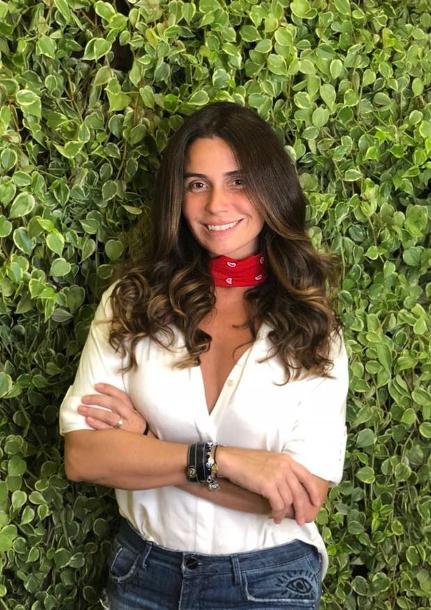 Giovanna Antonelli revela tratamentos que faz para o cabelo (Foto: Divulgação)