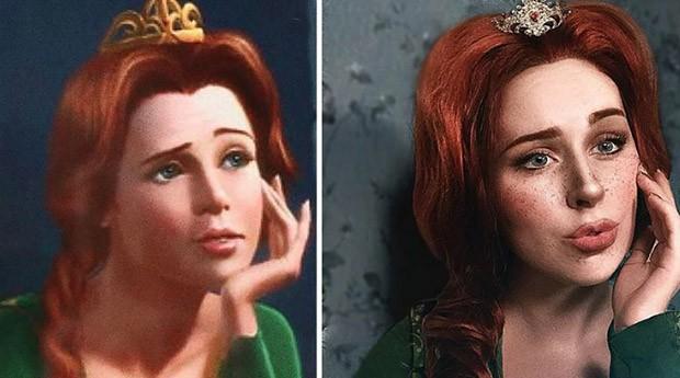 """Fiona, da série de filmes """"Shrek"""" (Foto: Instagram/benzoate_ost)"""
