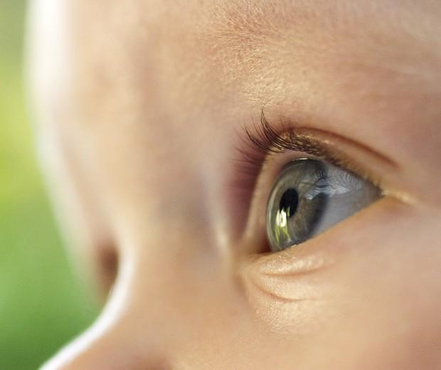 Olhos visão bebê (Foto: Thinkstock)
