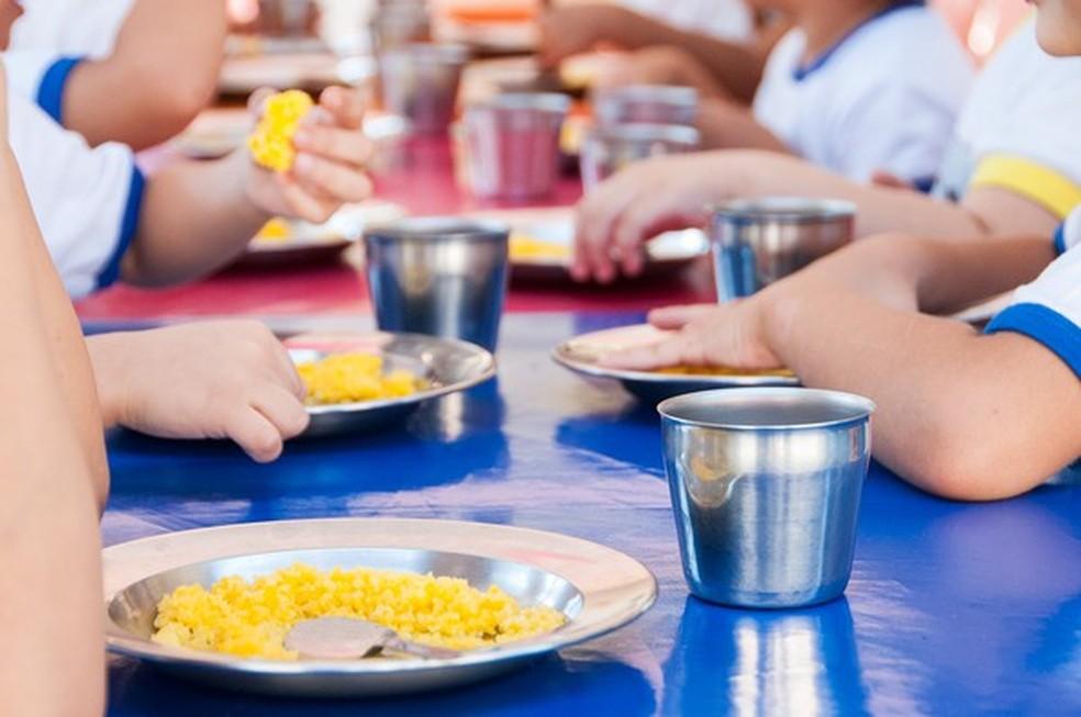 Merenda escolar está em falta em escola (Foto: MPE/Divulgação)