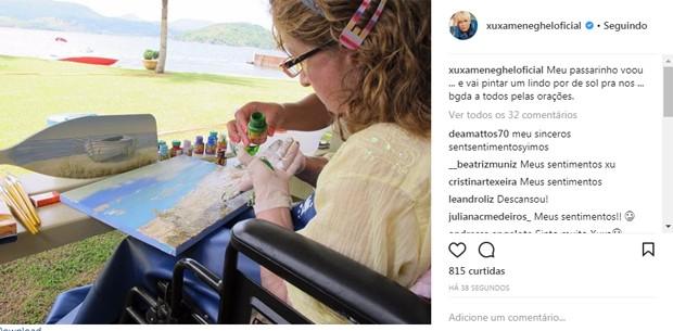 Xuxa faz homenagem para a mãe (Foto: Reprodução/Instagram)