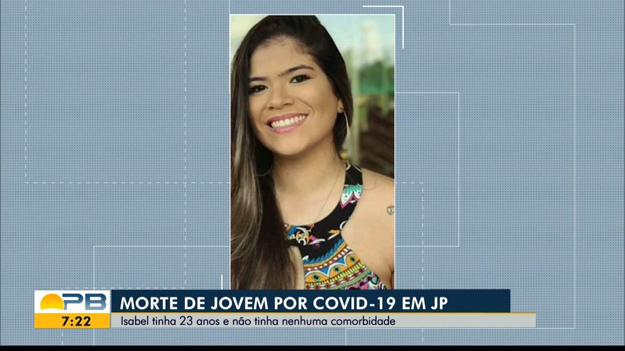 Jovem de 23 anos e sem comorbidade morre por Covid-19, na Paraíba