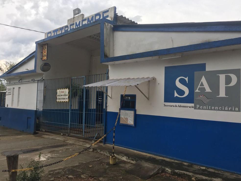 Procurador Matheus Carneiro Assunção foi transferido para a Penitenciária P2 em Tremembé — Foto: Silas Basílio/ Rede Vanguarda