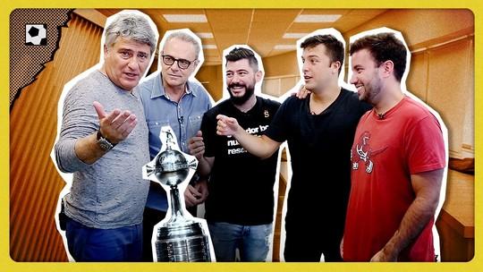 Cléber Machado e Luis Roberto em duelo hilário da Libertadores; veja