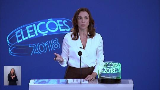 Debate dos candidatos ao governo do Rio - Bloco 3