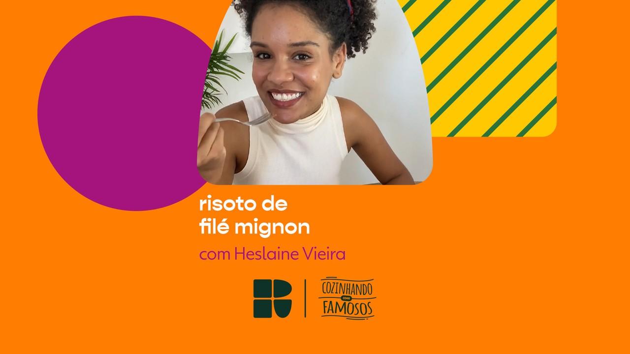 Heslaine Vieira ensina a fazer Risoto de Filé Mignon