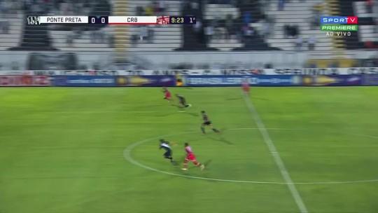 Ponte Preta x CRB - Campeonato Brasileiro Série B 2018 - globoesporte.com
