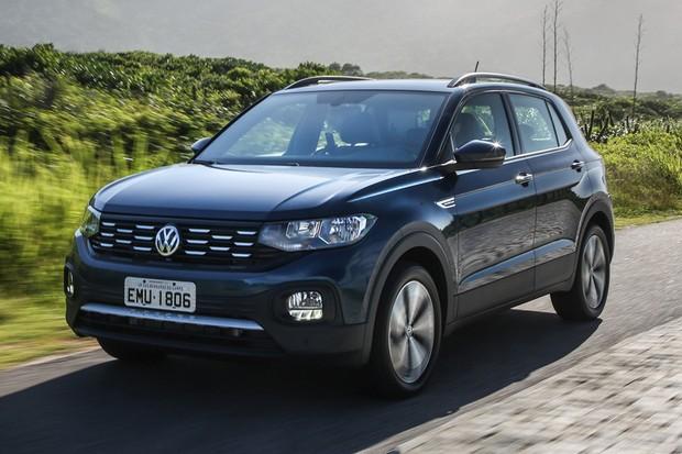 Volkswagen T-Cross Comfortline tem detalhes de acabamento mais simples (Foto: Divulgação)