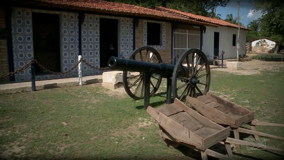 Museu guarda as relíquias da revolta. (Foto: Reprodução/TV Mirante)