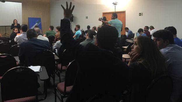 Palestra com especialista em direito eleitoral tratou de questões práticas como a abertura de CNPJs de campanha e emissão de recibos eleitorais (Foto: Divulgação/RenovaBR)