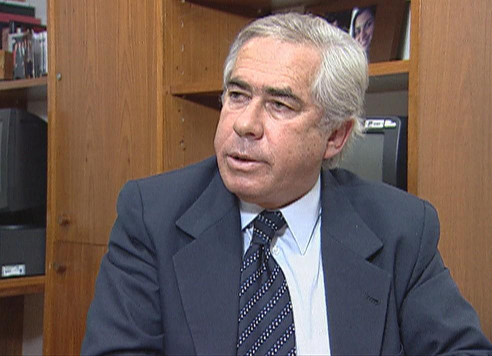 Ex-deputado Luiz Carlos Sigmaringa Seixas, em imagem de arquivo — Foto: TV Globo/Acervo