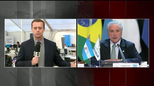 Mercosul pede restabelecimento da ordem institucional e diálogo na Venezuela
