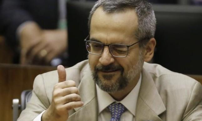 O ministro da Educação, Abraham Weitraub