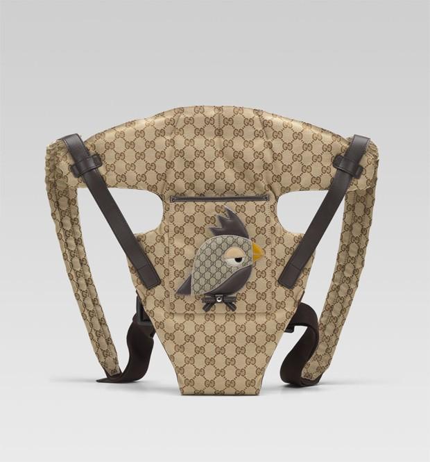 Carregador de bebês da marca italiana Gucci (Foto: Divulgação)