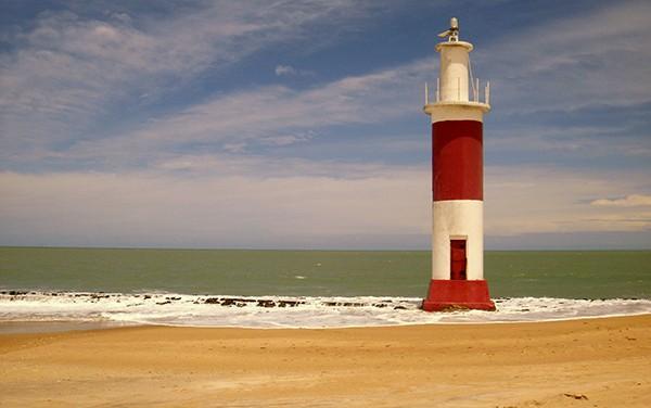 Faro de Galinhos, Río Grande do Norte, Brasil (Foto:  )