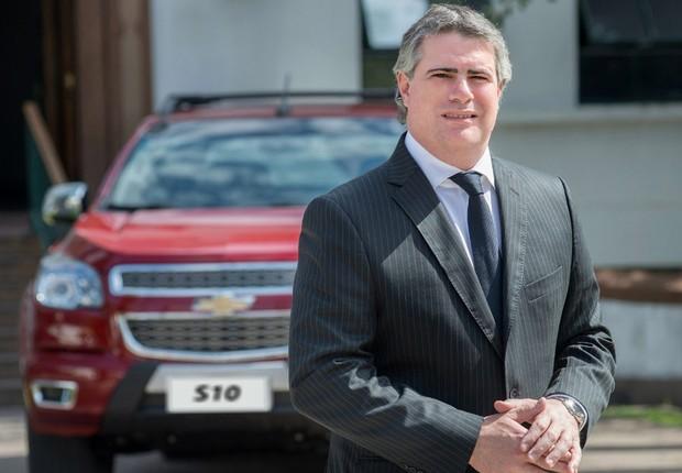 O presidente da General Motors para o Mercosul, Carlos Zarlenga (Foto: Divulgação)