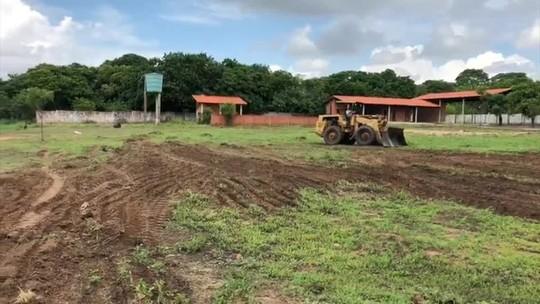 Com pré-temporada marcada para começar após o Natal, Piauí inicia reforma no CT Toca do Rato