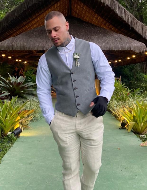Léo Stronda vai a casamento (Foto: Reprodução/Instagram)