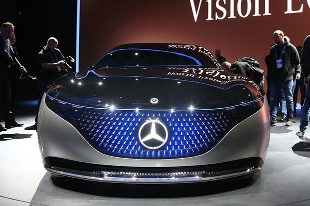 Mercedes-Benz Vision EQS Concept é revelado em Frankfurt (Foto: Newspress)