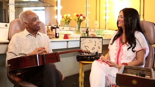 Belô Velloso entrevista Gilberto Gil no primeiro episódio de 'Todo Canto É Santo'