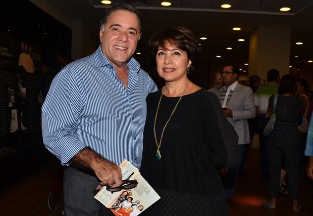 Tony Ramos e Lidiane Barbosa (Foto: Caio Duran/AgNews)