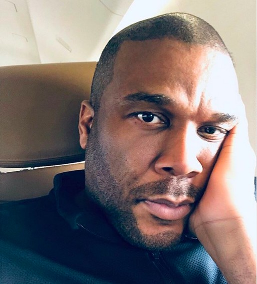 O ator Tyler Perry (Foto: Instagram)