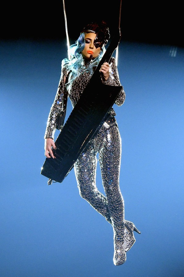 Lady Gaga em Las Vegas (Foto: Getty Images)