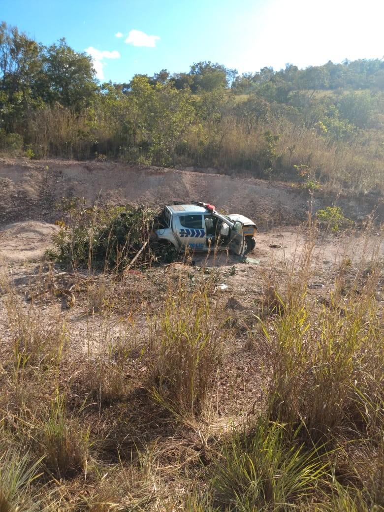 Policial militar morre após acidente com viatura no norte do Tocantins - Notícias - Plantão Diário