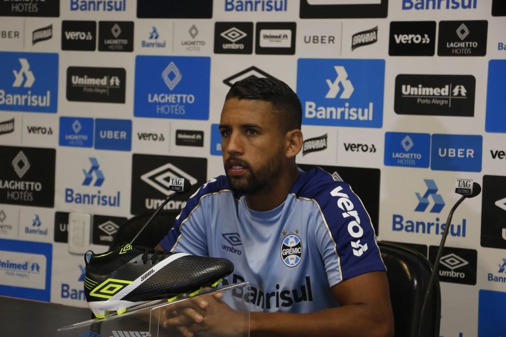 Michel garante recuperação para jogo da Libertadores — Foto: Eduardo Moura