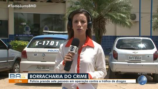 Ex-vereador e outras 16 pessoas são presas em ação contra o tráfico de drogas no norte da Bahia