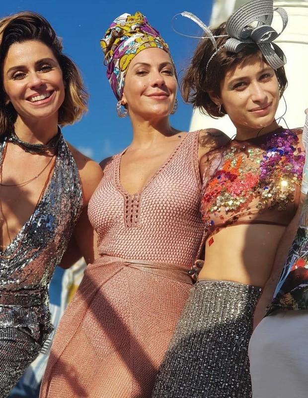 Giovanna Antonelli, Fabiula Nascimento e Luisa Arraes (Foto: Reprodução/Instagram)