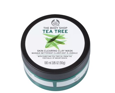 Máscara facial de argila e tea tree, R$ 81, The Body Shop