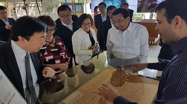 Autoridade do governo chinês visita o Centro Sebrae de Sustentabilidade (Foto: Divulgação)