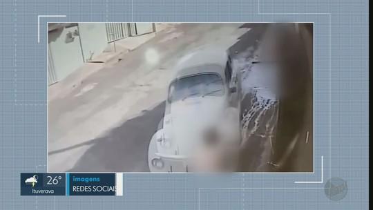 Homem é preso após tentar atropelar ex-mulher e o namorado dela em Cravinhos, SP