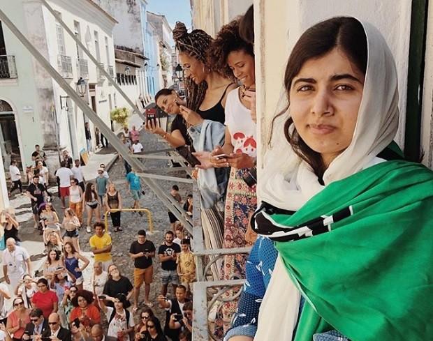 Primeira foto que Malala publicou em sua conta no Instagram (Foto: Reprodução/Instagram)