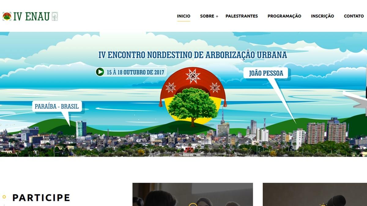 Começa neste domingo Encontro Nordestino de Arborização Urbana em João Pessoa