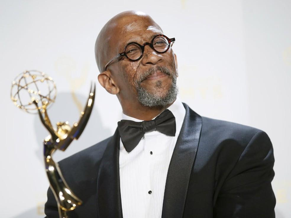 Reg E. Cathey venceu o Creative Arts Emmys 2015 por 'House of Cards' (Foto: REUTERS/Danny Moloshok)