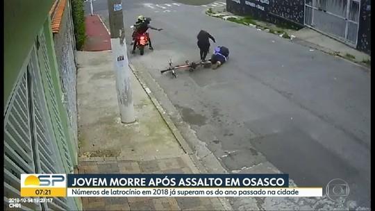 Rapaz reage a assalto e é morto a tiros na Grande São Paulo