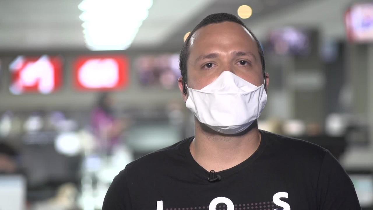 G1 em 1 Minuto: Vídeo mostra momento em que suspeito de feminicídio invade casa de vítima