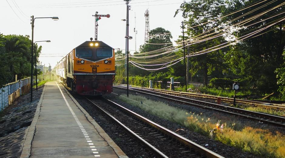 trem, ferrovia, malha ferroviária, trilhos, (Foto: Pixabay)