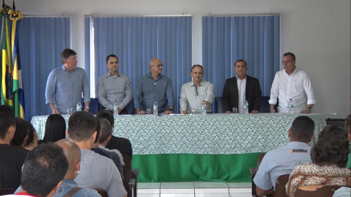 Comitiva da Suframa debate assuntos de área de livre comércio em visita a Guajará-Mirim, RO - Notícias - Plantão Diário