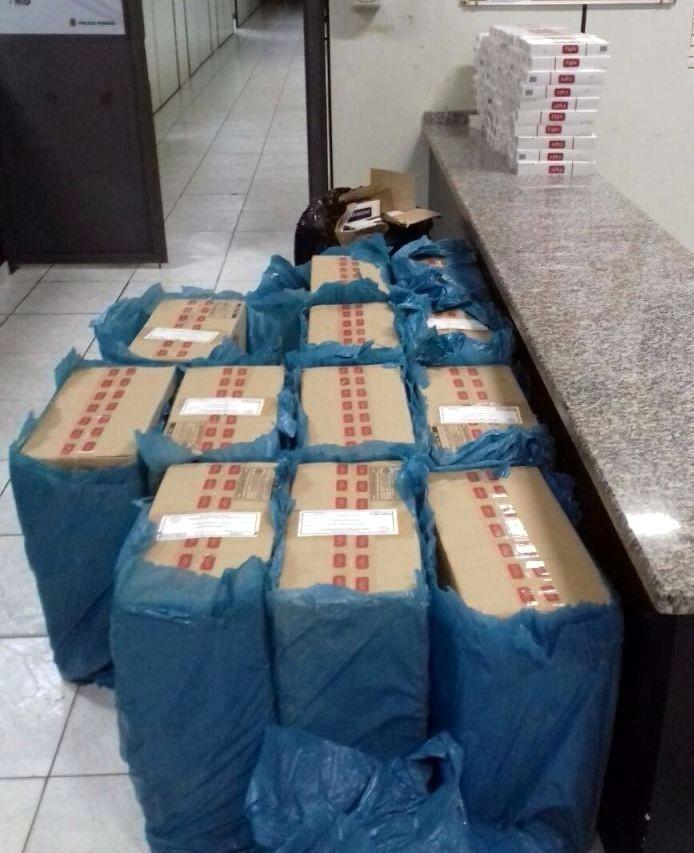 PF prende comerciante em Brotas e outras 4 pessoas em Rio Claro por contrabando de cigarros - Noticias