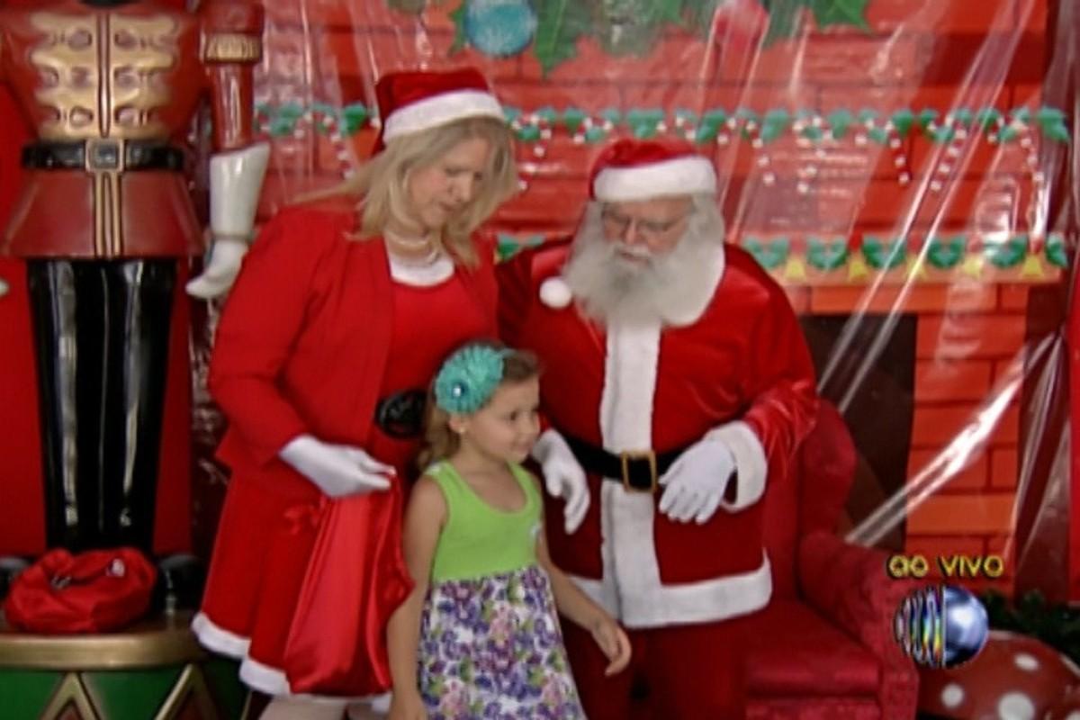 Casa do Papai Noel do Centro de Mogi começa a receber visitantes