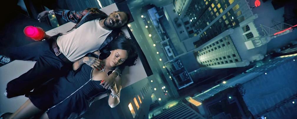 Kendrick Lamar e Rihanna dividem a cena no clipe de 'Loyalty' (Foto: Reprodução/YouTube/KendrickLamarVEVO)